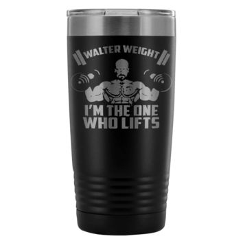 Gym Insulated Coffee Travel Mug The One Who Lifts 20oz Stainless Steel Tumbler