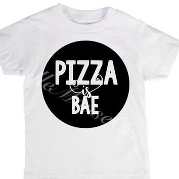 Pizza is bae, pizza, pizza shirt, pizza lover, pizza slice, pizza party, Chicago deep dish, pepperoni pizza, funny pizza shirt, I love pizza