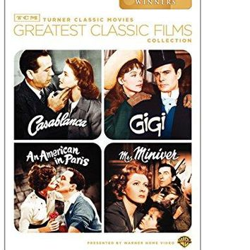 Humphrey Bogart & Ingrid Bergman & Michael Curtiz & William Wyler-TCM Greatest Classic Films Collection: Best Picture Winners (Casablanca / Gigi / An American in Paris / Mrs. Miniver)