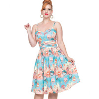 Voodoo Vixen Aria Sky Dream Flare Dress