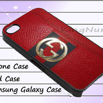 red gucci for iphone 4/4S, iPhone 5/5S/5C, Samsung Galaxy S3/S4, iPod Touch 4/5, htc Case