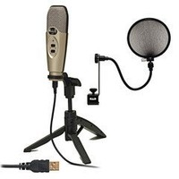 CAD U37 USB Studio Quality Recording Bundle Plug n' Play