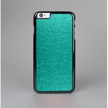 The Teal Stamped Texture Skin-Sert for the Apple iPhone 6 Plus Skin-Sert Case