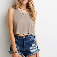 Boxy Cropped Top