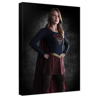 Supergirl TV Show Standing Proud Stretched Canvas Wall Art