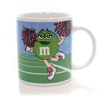 Licensed M & M Cheerleader Mug Mug / Coffee Cup