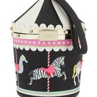 KATE SPADE NEW YORK - Carousel leather bag | Selfridges.com