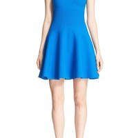 Milly Structured Stretch Knit Swing Dress | Nordstrom