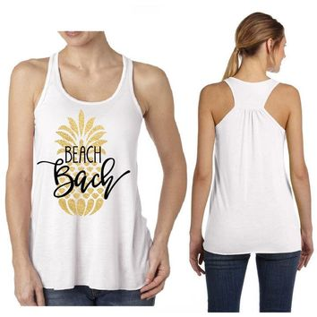 Beach Bach Bash Tank / Brides / Glam Posse / Bridesmaids / Mother of the Bride / Wifey/Bachelorette Entourage