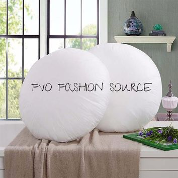 Cushion Core/Pillow Core/Seat Cushion Core. Inner Round  Cushion Insert/ Filling for Floor Cushions and ( 3) Sizes