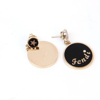 Fendi Womens Earrings 8AG253 00CR1 F0VQ0