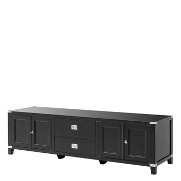 Black TV Cabinet | Eichholtz Military