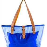 """Clear The Way"" Tote Bag With Matching Pouch"