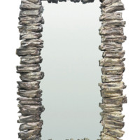 Oly Studio Shimmer Driftwood Large Mirror