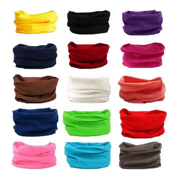 Solid Women Ladies Elastic Turban Headband Head Wrap Wide Stretch Hair Band Teens Yoga Fitness Exercise Workout Hair Accessories