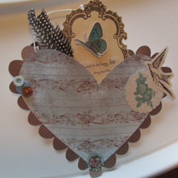 Heart Home Decoration, Shabby Chic Home Decoration