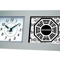 LOST TV Show Dharma Initiative Desk Table Clock