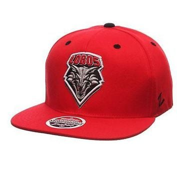 Licensed New Mexico Lobos Official NCAA Z11 Adjustable Hat Cap by Zephyr 297858 KO_19_1