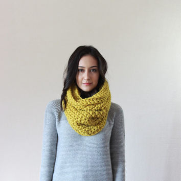 The Lille, Chunky Cowl - CITRON