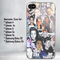 Matthew Espinosa Collage Magcon Boys for iPhone 4/4S/5/5S/5C and Samsung Galaxy S3/S4