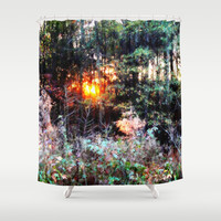 Where Fairies Live Landscape revisited Shower Curtain by 2sweet4words Designs | Society6