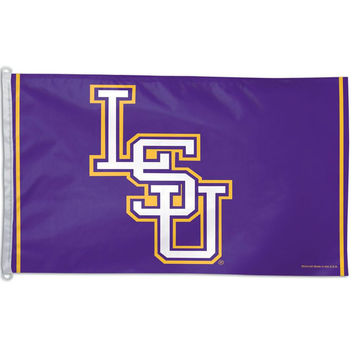 LSU Tigers - Logo 3x5 Flag