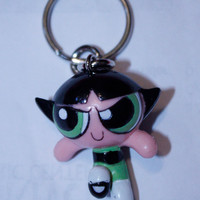 Vintage Buttercup Keychain