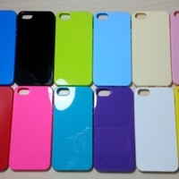 For Apple iPhone 5 / 5s Candy Color TPU Soft Silicone case