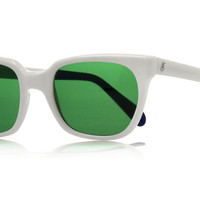 Sheriff&Cherry G11S Classic White Sunglasses