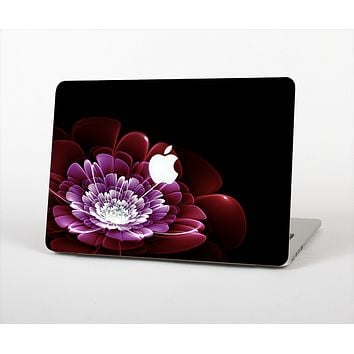 The Glowing Abstract Flower Skin Set for the Apple MacBook Pro 13""