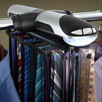 Motorized Tie Rack  @ Sharper Image