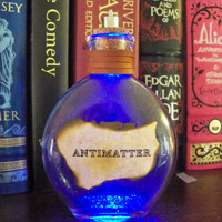 "Once Upon a Fantasy"" Steampunk light up bottles- ANTIMATTER"