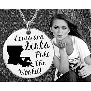 Louisiana Girls Jewelry | Louisiana State