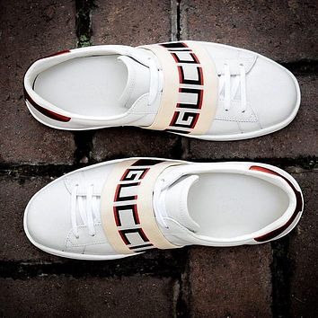 Gucci Casual And Casual White Shoes Various Styles-2