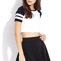 Sporty Side Crop Top