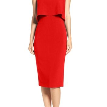 Likely 'Driggs' Strapless Popover Sheath Dress | Nordstrom