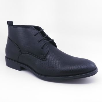 Anthony Men Ankle Boots (Black)