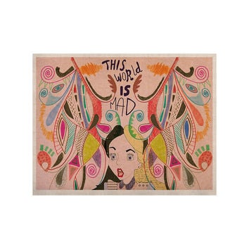 "Vasare Nar ""Alice in Wonderland"" KESS Naturals Canvas (Frame not Included)"