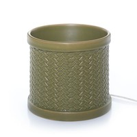 Dune Weave Scenterpiece™ Warmer : Scenterpiece™ Easy MeltCup Warmer : Yankee Candle