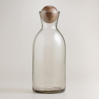 Individual Decanter with Wood Stopper - World Market