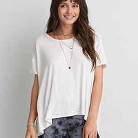 AEO Soft & Sexy Oversized T-Shirt , Natural White