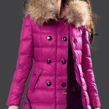 Moncler Albizia Hooded Puffer Coat
