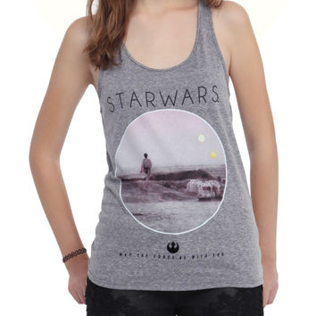 Star Wars Photo Real Girls Tank Top