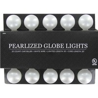 UL G40 Pearlized Globe Lights | Shop Hobby Lobby