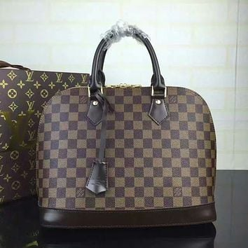 LV Louis Vuitton WOMEN'S MONOGRAM CANVAS HANDBAG SHOULDER BAG