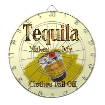 Tequila Shot Glass Dartboard from Zazzle.com