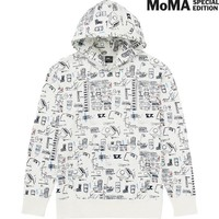 MEN SPRZ NY SWEAT PULLOVER HOODIE (JEAN-MICHEL BASQUIAT) | UNIQLO