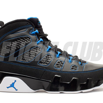 "air jordan 9 retro ""photo blue"" - black/white-photo blue 