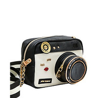 KITSCH CAMERA CROSSBODY: Betsey Johnson