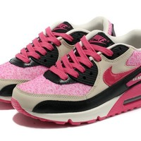 Nike Air Max 90 Women Sport Casual Multicolor Air Cushion Sneakers Running Shoes-1